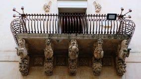 Μπαρόκ λιοντάρια στοκ φωτογραφία
