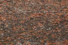 Μπαρόκ οχύρωση τούβλου παλαιό παράθυρο σύστασης λεπτομέρειας ανασκόπησης ξύλινο Στοκ Εικόνα