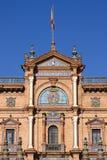 Μπαρόκ παλάτι Plaza de Espana Στοκ Φωτογραφίες