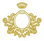 μπαρόκ πλαίσιο VIII Στοκ φωτογραφία με δικαίωμα ελεύθερης χρήσης