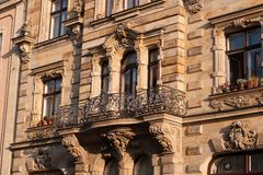 Μπαρόκ πρόσοψη Στοκ φωτογραφία με δικαίωμα ελεύθερης χρήσης