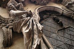 μπαρόκ πύλη εκκλησιών Στοκ φωτογραφίες με δικαίωμα ελεύθερης χρήσης