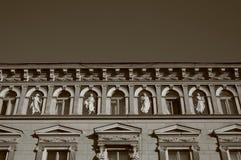 μπαρόκ σπίτι Στοκ Φωτογραφίες