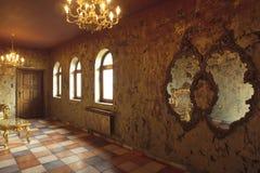 μπαρόκ όμορφο δωμάτιο Στοκ Εικόνες