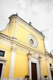 Μπαρόκ archi επαρχιών του Foggia εκκλησιών καθεδρικών ναών SAN Severo κίτρινο Στοκ εικόνες με δικαίωμα ελεύθερης χρήσης
