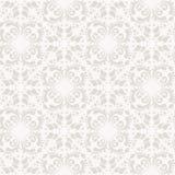 Μπαρόκ damask άνευ ραφής διανυσματικό υπόβαθρο διανυσματική απεικόνιση