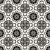 μπαρόκ floral πρότυπο ελεύθερη απεικόνιση δικαιώματος