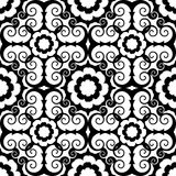 μπαρόκ floral πρότυπο διανυσματική απεικόνιση