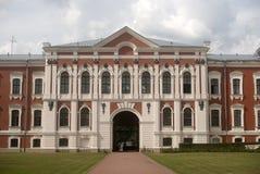 μπαρόκ jelgava Λετονία κάστρων Στοκ Εικόνες