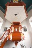 Μπαρόκ pulpit Στοκ εικόνες με δικαίωμα ελεύθερης χρήσης
