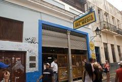Μπαρ Λα Bodeguita, Αβάνα, Κούβα Στοκ εικόνα με δικαίωμα ελεύθερης χρήσης