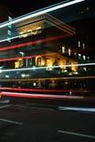 Μπαρ στη νύχτα Στοκ Εικόνες