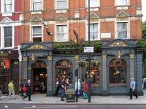 μπαρ του Λονδίνου Στοκ Φωτογραφία