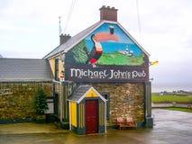 Μπαρ του Michael John ` s Donegal στην περιοχή, Ιρλανδία στοκ εικόνα με δικαίωμα ελεύθερης χρήσης