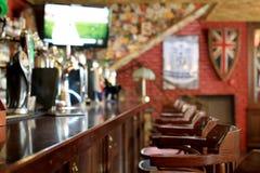 Μπαρ φραγμών μπύρας στοκ φωτογραφίες