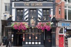 μπαρ George Λονδίνο στοκ φωτογραφία με δικαίωμα ελεύθερης χρήσης