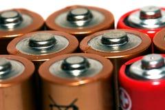 μπαταρία ηλεκτρική Στοκ Εικόνα