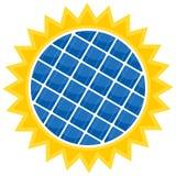 μπαταρία ηλιακή Στοκ Φωτογραφίες