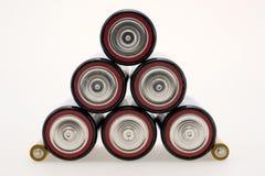 μπαταρίες ηλεκτρικές Στοκ Φωτογραφία