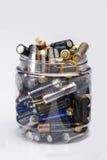 μπαταρίες Στοκ Φωτογραφίες