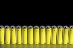 μπαταρίες Στοκ Εικόνα