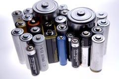 μπαταρίες Στοκ Εικόνες