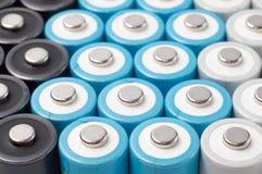 μπαταρίες AA επαναφορτιζόμενες Στοκ Φωτογραφίες