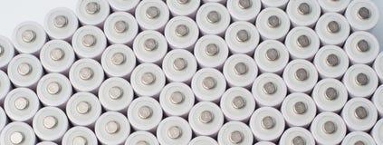 μπαταρίες AA επαναφορτιζόμενες Στοκ φωτογραφία με δικαίωμα ελεύθερης χρήσης