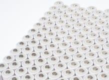 μπαταρίες AA επαναφορτιζόμενες Στοκ Φωτογραφία