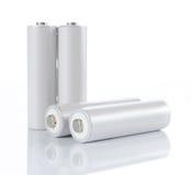 μπαταρίες AA Στοκ Εικόνα