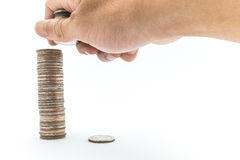 Μπατ χρημάτων Στοκ φωτογραφία με δικαίωμα ελεύθερης χρήσης