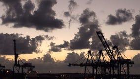 Μπαχάμες - ελεύθερος λιμένας - βιομηχανικός λιμένας απόθεμα βίντεο