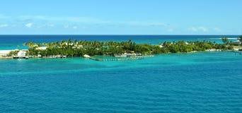 Μπαχάμες Waterscape Στοκ φωτογραφία με δικαίωμα ελεύθερης χρήσης