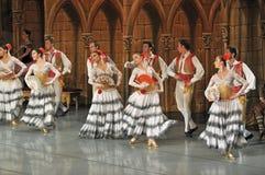 Μπαλέτο του Don Quichotte Στοκ Εικόνες