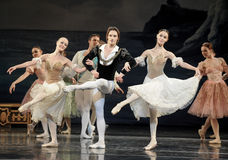 Μπαλέτο χορού πριγκήπων Στοκ Εικόνα