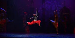 """Μπαλέτο """"One χίλιο και ένα Nights† χορού πειρατών Στοκ Φωτογραφία"""