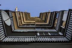 Άποψη σπιτιών κατοικιών Στοκ Εικόνες