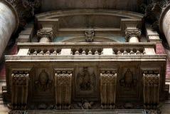 Μπαλκόνι παπά στη βασιλική του ST Peter σε Βατικανό Στοκ φωτογραφία με δικαίωμα ελεύθερης χρήσης