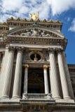Μπαλκόνι στην όπερα του Παρισιού Στοκ Φωτογραφία