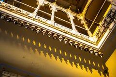 Μπαλκόνι στο παλάτι πόλεων Στοκ εικόνα με δικαίωμα ελεύθερης χρήσης