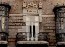 Μπαλκόνι της Juliette στην Ισπανία - τη Σεβίλη Στοκ Εικόνες