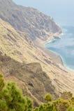 Μπαλκόνι Playas Las, νησί EL Hierro Στοκ εικόνα με δικαίωμα ελεύθερης χρήσης