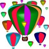 μπαλονιών Στοκ εικόνα με δικαίωμα ελεύθερης χρήσης