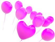 μπαλονιών διανυσματική απεικόνιση