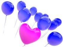 μπαλονιών ελεύθερη απεικόνιση δικαιώματος