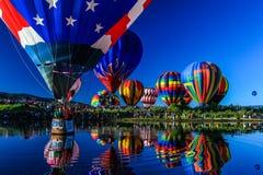Μπαλόνια ένα επιπλέον σώμα στοκ εικόνα με δικαίωμα ελεύθερης χρήσης
