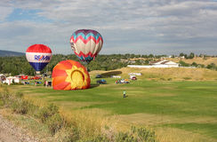 μπαλόνια αέρα καυτά Στοκ εικόνες με δικαίωμα ελεύθερης χρήσης