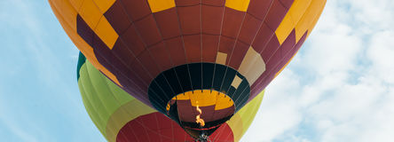 μπαλόνια αέρα καυτά Στοκ Εικόνα