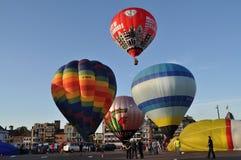 Μπαλόνια αύξησης, αίθουσα sint-Niklaas πόλεων Στοκ Εικόνες