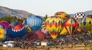 Μπαλόνια εκταρίου στοκ εικόνες με δικαίωμα ελεύθερης χρήσης